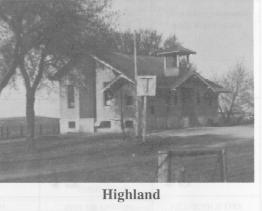 Highland--located on County EE