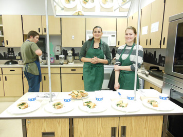 Food Truck Competitions in Culinary 2 Class