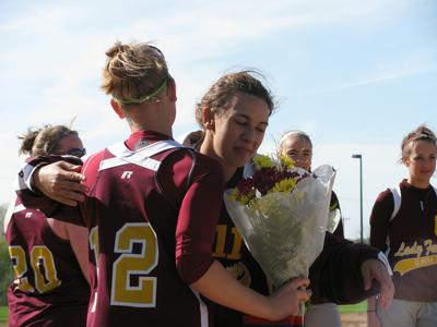 Omro Lady Foxes Senior Night - Photo Number 16