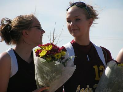 Omro Lady Foxes Senior Night - Photo Number 18
